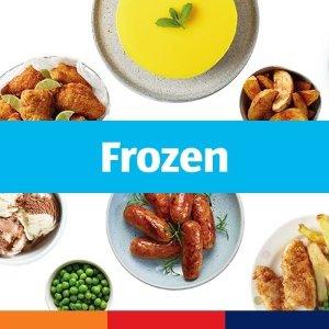 零食腰果35p起 果汁£1.25/6罐Aldi 速冻食品、零食酒饮专场 披萨薯条 一餐不到两镑