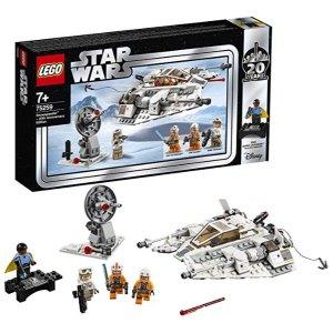 LEGOStarWars 75259 乐高星球大战20周年纪念套装 雪地战机 特价