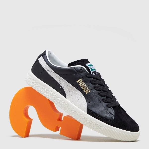 复古黑色运动鞋
