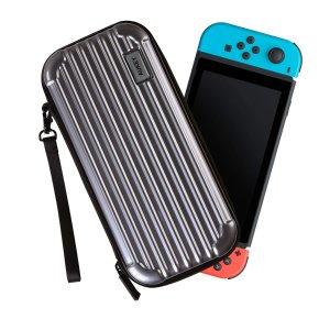 $6.97(原价$16.99)Aukey Nintendo Switch 硬壳收纳包 银色款