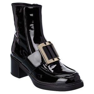 Roger Vivier方扣靴