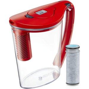 $17.48(原价$29.94)Brita 10杯大容量净水壶+滤芯