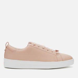 Ted Baker粉色运动鞋