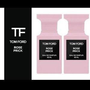 2020玫瑰香水粉红泡泡再一波情人节好礼物:Tom Ford 私人调香系列新推出Rose Prick,带刺玫瑰好撩人!