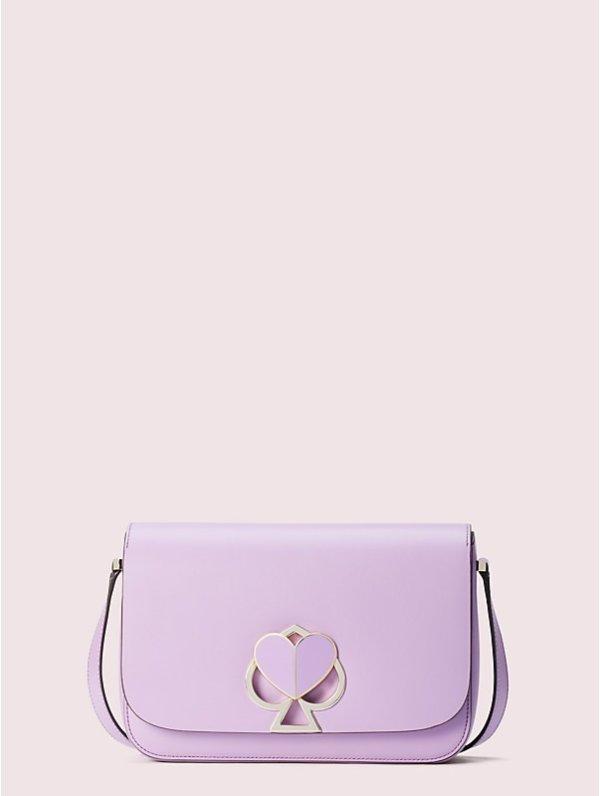 紫色桃心包