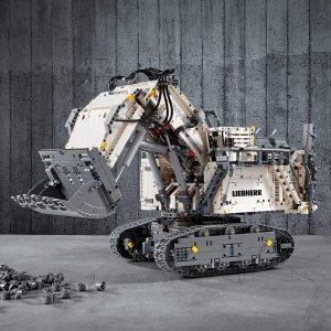 6.9折 €303.77(原价€438.65)史低价:LEGO 科技系列 利勃海尔R 9800 可遥控可收藏的旗舰级乐高
