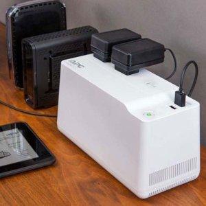 $19.99白菜价:APC 125VA 75W 3插口 2 USB接口 家用应急备用电源