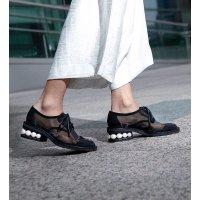 Nicholas Kirkwood 透视感珍珠牛津鞋