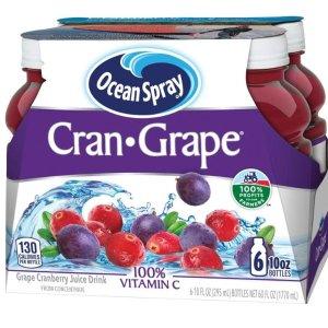 $3.53 + Free ShippingOcean Spray Juice Drink, Cran-Grape 10 oz Pack of 6