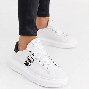 全线8折 £52入Tote包Karl Lagerfeld 法国老佛爷潮牌 麦昆平替小白鞋、包包好价