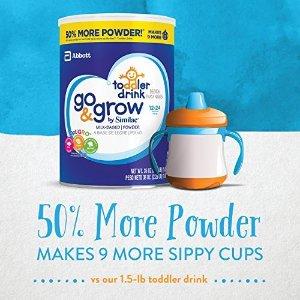 雅培 Go & Grow 金盾三段奶粉超大包装 36oz 3罐 + 2包随身包