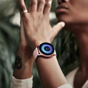 3.7折起!折后€119 原价€319Samsung 三星Active2智能手表 完美适配三星手机 记录身体状况