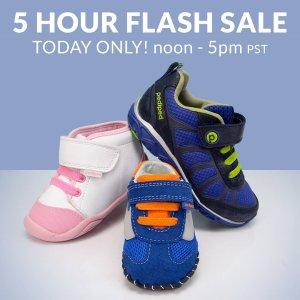 无门槛包邮 直接省$6.95即将截止:pediped OUTLET 童鞋低至4折五小时闪购