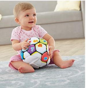 $16.75(原价$48.02)Fisher-Price 费雪音乐感应足球玩具