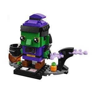 $6.99(原价$9.99)史低价:LEGO BrickHeadz 方头仔系列 万圣节女巫 40272
