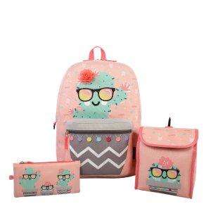 仙人掌背包+午餐袋套装