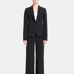 $178(Org: $445)Crepe Structured Gabe Blazer @ Theory