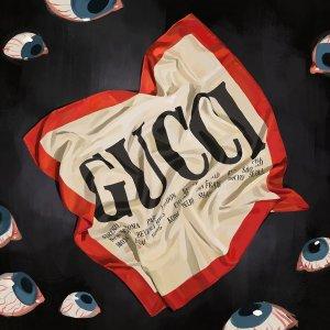 牵手艺术家的Gucci你怎能不爱Gucci 最新复古艺术家合作系列上新