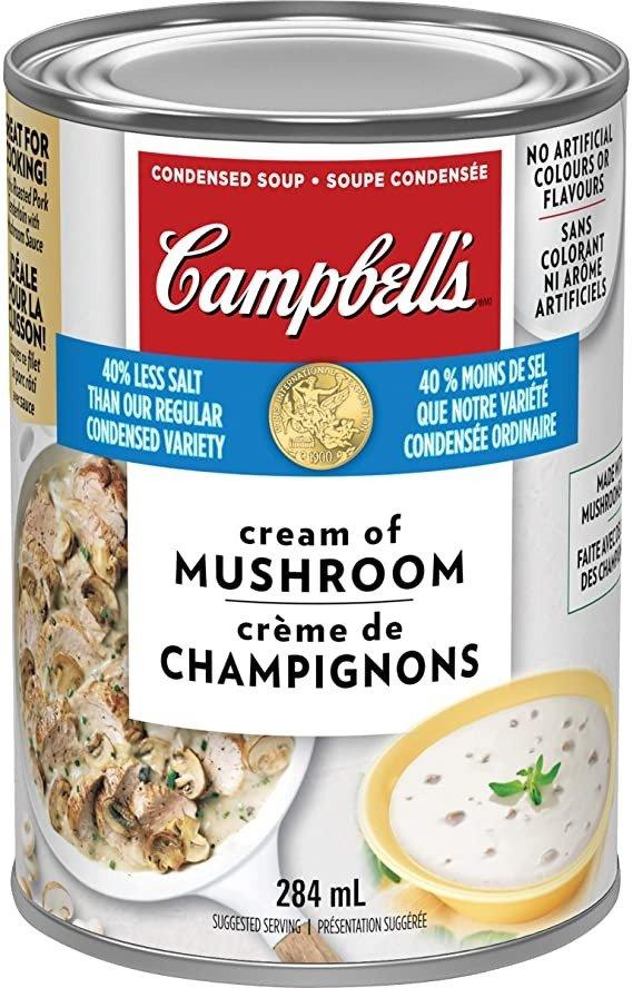 蘑菇奶油浓汤