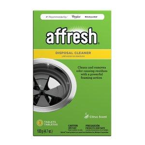 $3.79 包邮Affresh 洗碗机、洗衣机和厨房食物粉碎机清洁片套装 3片