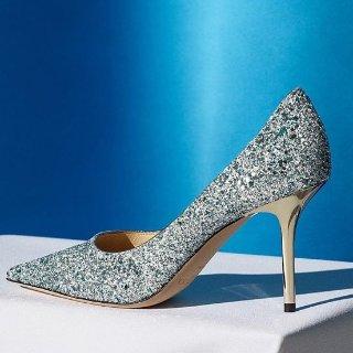 低至3.6折 黑色踝靴$341Jimmy Choo 美鞋热卖 入手明星同款闪片高跟鞋