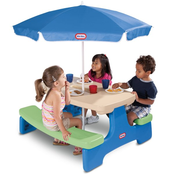 儿童6人可折叠桌椅