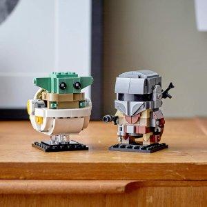 $14.86(原价$24.86)LEGO星球大战系列75317 曼达洛人与尤达宝宝(29块)
