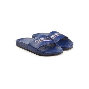 Balenciagalogo拖鞋