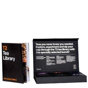 T2 tea茶叶图书馆:印度茶限定包装礼盒