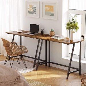 7.9折起 封面款€45.99Amazon 书桌限时促 打造舒适办公环境 可站立办公减少健康危害