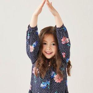 低至4折 收封面连衣裙Joules英伦童装官网 夏季大促,高品质也有高颜值