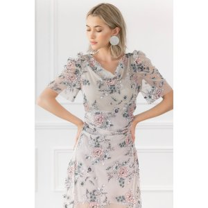 Penelope Embroidered Floral Dress 连衣裙