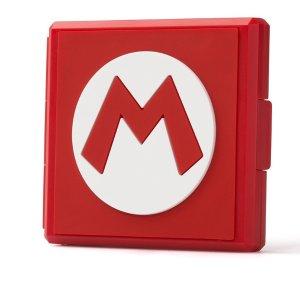 售价$5.99任天堂官方授权 Switch 游戏卡收纳包 超级马里奥版