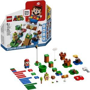 $64.99(原价$69.99)LEGO 乐高  超级玛丽冒险入门套装 71360 (231粒)