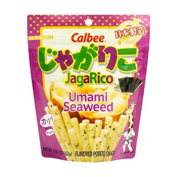 CALBEE JAGARICO 土豆脆棒 鲜香海苔味 52g