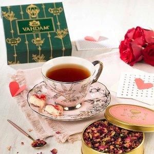 经典玫瑰花瓣+红茶礼盒
