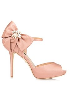 SAMRA BOW ACCENT EVENING SHOE