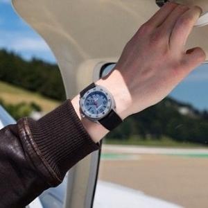 JeanRichard Men's Aeroscope Watch 60660-21-001-001