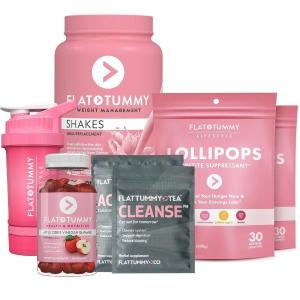 7折 低至$89.6Flat Tummy 减肥纤体茶+奶昔多款套装促销