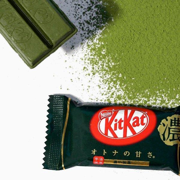 深色抹茶Kitkat 13块