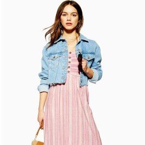 低至7折+免邮 $28收百搭小白鞋TopShop 女士夏季美衣、鞋包热卖 超多好看上衣$10起