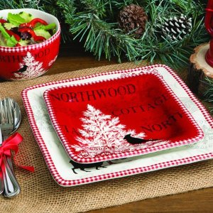 75% offSelect Christmas and Harvest Dinnerware @ The Home Depot