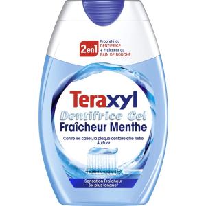 变相6折 仅需€1.2Teraxyl 美白清洁二合一牙膏 75ml 法国本土girl最爱用的牌子