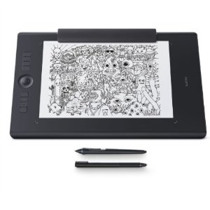 $359 (原价$449)最新技术Wacom Intuos pro 手绘板+触屏笔
