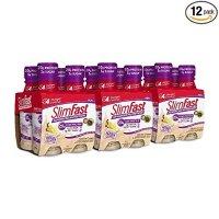Slimfast 代餐香草奶油口味奶昔 11 Fl. Oz 12瓶