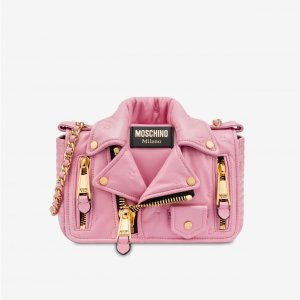 MoschinoBiker bag Inside Out Quilting