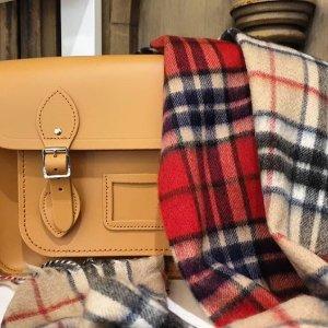线上折扣+额外7折新年礼物:GRETNA GREEN 苏格兰手工羊绒围巾 BBR平替款