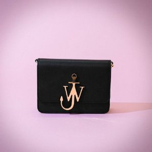JW Anderson Mini Logo Leather Shoulder Bag