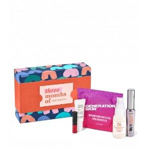 Birchbox价值 $91美妆盒子3个月