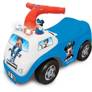 $15 Kiddieland Disney Mickey Mouse Police Drive Along Ride-On